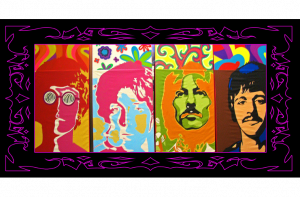 The Beatles- Salvador Live Paint Show Gallery