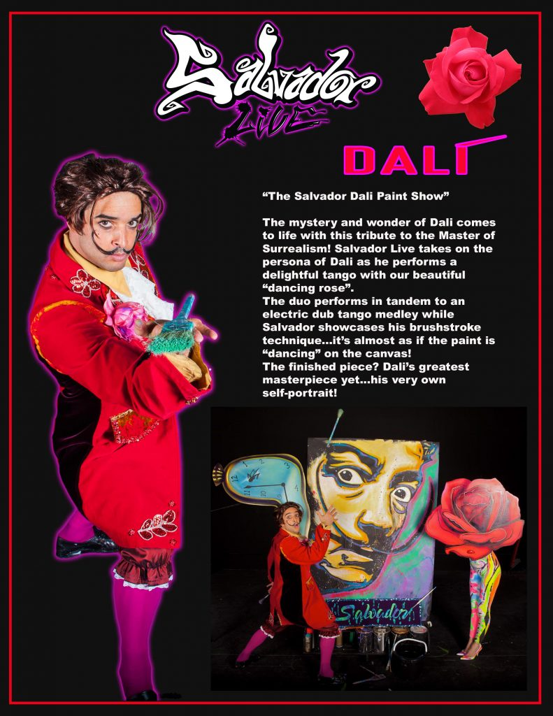 Salvador Live The Dali Show