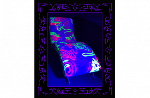 Black Light Couch- Salvador Live Paint Show Gallery