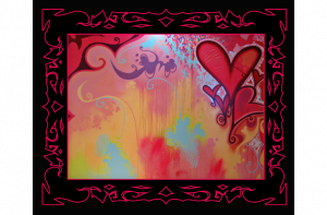 Hearts- Salvador Live Paint Show Gallery